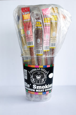 Ole' Smokies Mixed Tub, Ole' Smokies, Jesse's Specialty Snacks & Gifts, Jesse's Specialty Snacks & Gifts - Jesse's Specialty Snacks & Gifts