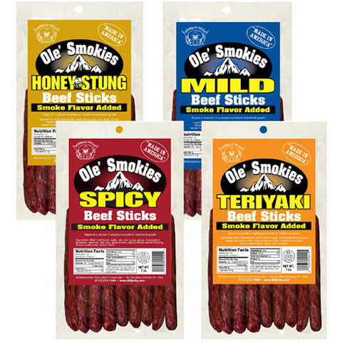 Ole' Smokies 7oz Packs, Ole' Smokies, Jesse's Specialty Snacks & Gifts, Jesse's Specialty Snacks & Gifts - Jesse's Specialty Snacks & Gifts
