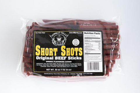 Short Shots Beef Sticks (5 flavors), Beef Sticks, Jesse's Specialty Snacks & Gifts, Jesse's Specialty Snacks & Gifts - Jesse's Specialty Snacks & Gifts