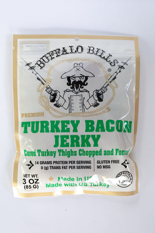 Turkey Bacon Jerky, Turkey Jerky, Jesse's Specialty Snacks & Gifts, Jesse's Specialty Snacks & Gifts - Jesse's Specialty Snacks & Gifts