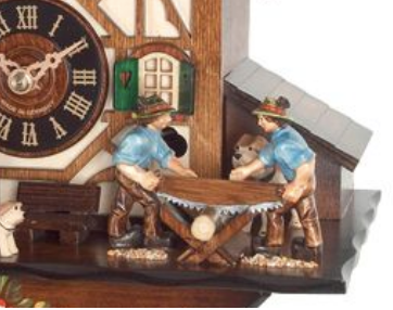 Common Styles of Black Forest Cuckoo Clocks