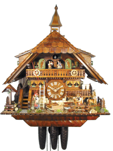 2010 Schwer Cuckoo Clock of the Year