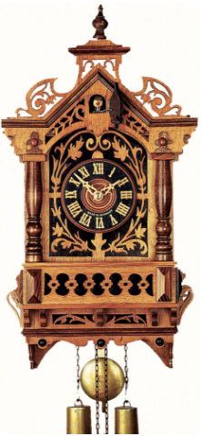 2003 Rail House Cuckoo clock of the year