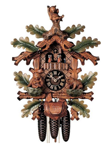 Black Forest Bear cuckoo clock