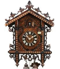 Railroad cuckoo clock