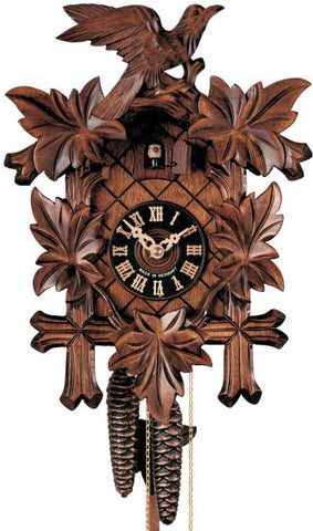 "Hones 16"" 1 Day Carved 100/4 Cuckoo Clock"