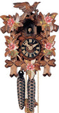 "Hones 8.5"" 1 Day Carved 100RO Cuckoo Clock"
