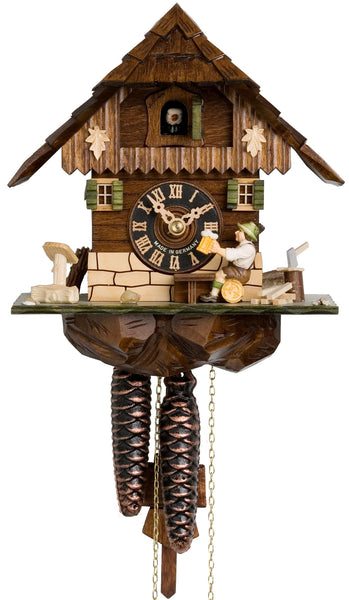 "Hones 8"" 1 Day Chalet 1268 Cuckoo Clock"