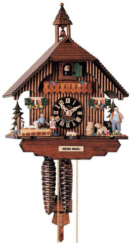 "Hones 11.5"" 1 Day Chalet 1288 Cuckoo Clock"