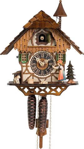 "Hones 11.5"" 1 Day Chalet 1294 Cuckoo Clock"