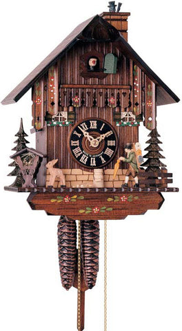"Hones 11"" 1 Day Chalet 160 Cuckoo Clock"