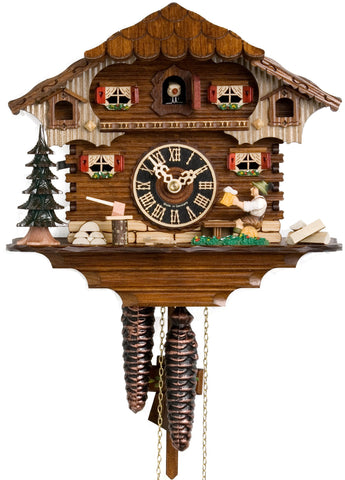 "Hones 9"" 1 Day Chalet 164 Cuckoo Clock"