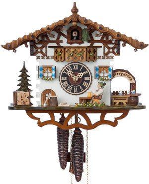 "Hones 10"" 1 Day Chalet 165 Cuckoo Clock"