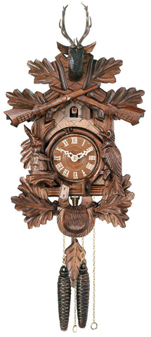 Engstler 1 Day Hunter Cuckoo Clock 19-16