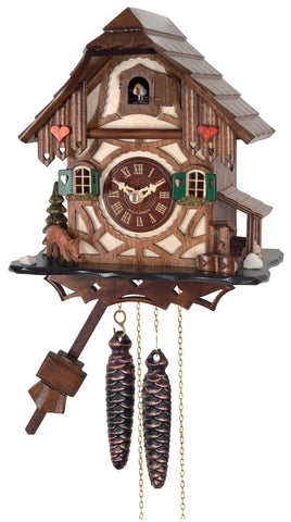 Engstler 1 Day Cottage Cuckoo Clock 32-09