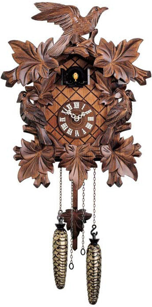 "Hones 16"" Quartz Carved 352Q Cuckoo Clock"