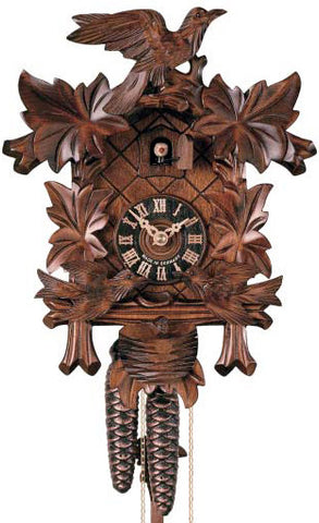 "Hones 12.5"" 1 Day 400/3 Carved Cuckoo Clocks"
