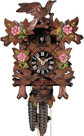 "Hones 12.5"" 1 Day Carved 400/3RO Cuckoo Clock"