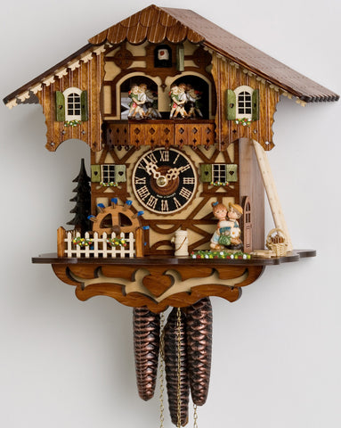 "Hones 11"" 1 Day Chalet Music 6205T Cuckoo Clock"