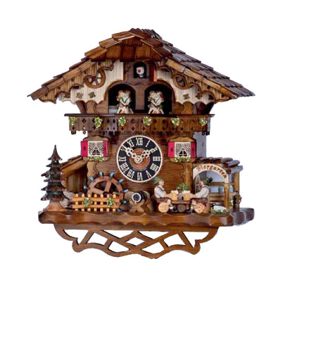 "Hones 12.5"" 1 day chalet music cuckoo clock 6259T"