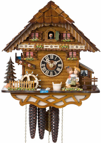 "Hones 18"" 1 Day Chalet Music 6278M Cuckoo Clock"