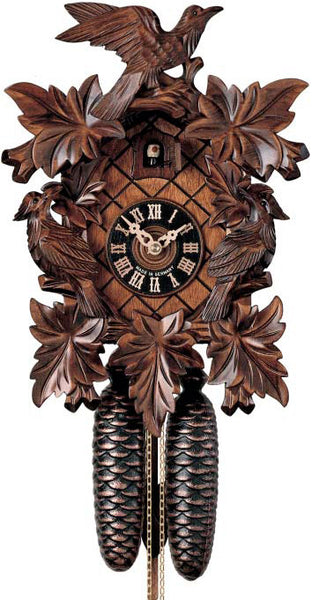 "Hones 19"" 8 Day Carved 801/5 Cuckoo Clock"