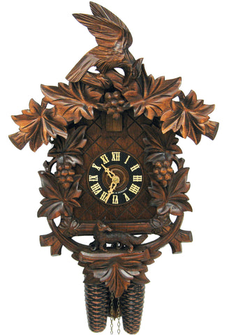 "Hones 16"" 8 Day Carved 820/4 Cuckoo Clock"