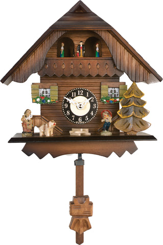 83-07QPT Novelty Quartz Cuckoo Clock - Westminster Chime