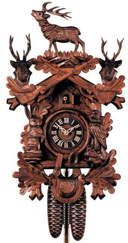"Hones 23"" 8 Day Carved 837/5 Cuckoo Clock"