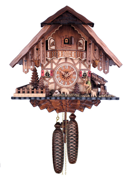 Engstler 8 Day Chalet Cuckoo Clock 838-14