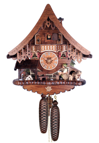 Engstler 8 Day Chalet Cuckoo Clock 840-13