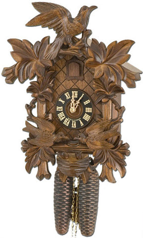 "Hones 14"" 8 Day Carved 8400/4 Cuckoo Clock"