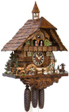 "Hones 21.5"" 8 Day Chalet Music 86740T Cuckoo Clock"