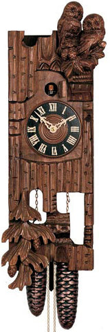 "Hones 18"" 8 Day Carved 869 Cuckoo Clock"