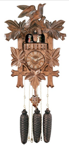 Engstler 8 Day Carved Cuckoo Clock MD841-16