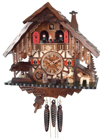 8 Day Engstler Chalet Cuckoo Clock MD414-14