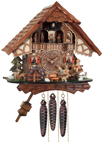 Engstler 1 Day Musical Cuckoo clock MD468-13