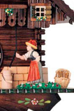 "Hones 11"" 1 Day Chalet Music 619M Cuckoo Clock"
