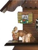 Engstler Novelty Quartz Cuckoo Clock - 83-07QPT -Westminster Chime