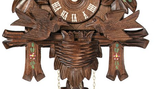 Copy of Engstler 1 Day Carved Cuckoo Clock with Moving Birds 15-13P