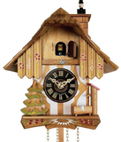 Engstler 1 Day Chimney Sweeper Chalet Cuckoo clock 22-09P