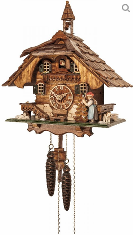 Engstler 1 Day Chalet Cuckoo Clock Cottage 50-15