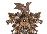 Engstler 8 Day Carved Cuckoo Clock 815-16P