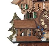 Engstler 1 Day Musical Cuckoo Clock Couple Kiss MD498-14