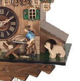 Engstler 1 Day Musical Cuckoo Clock Wood Saw MD434-14