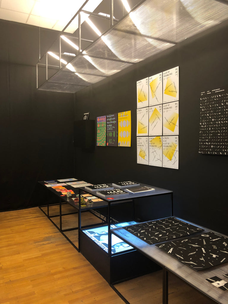 Expozitia grafica Romanian Design Week 2019