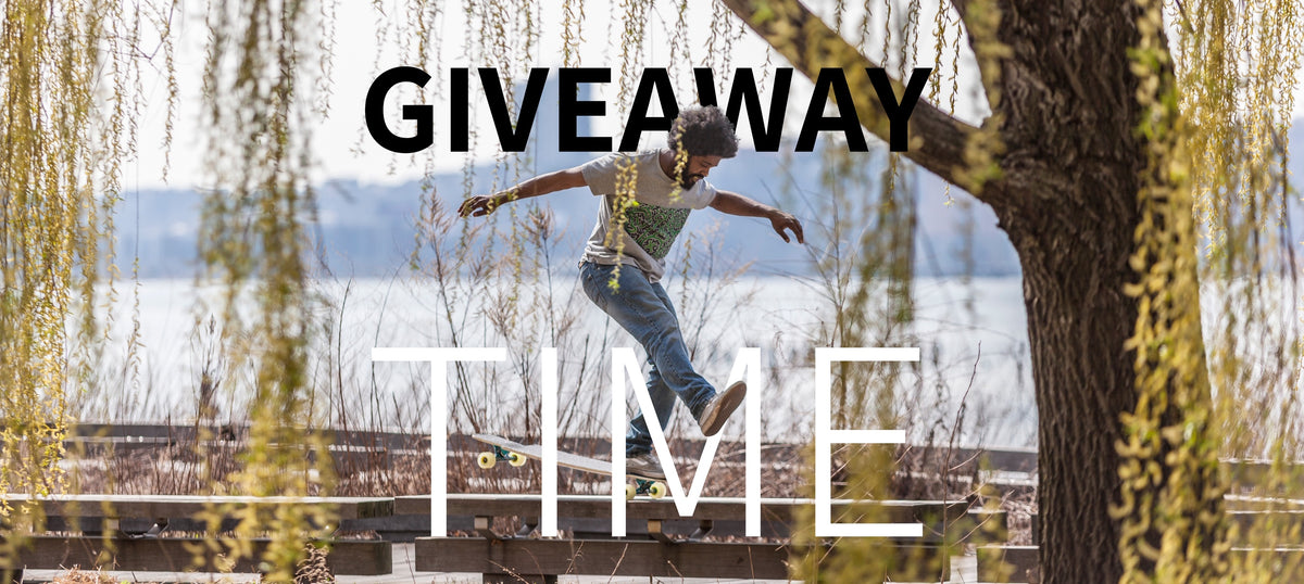 0131 giveaway time 1200x630 - Skateboard Giveaway