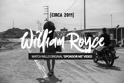How to get sponsored - William Royce's First Bustin Video