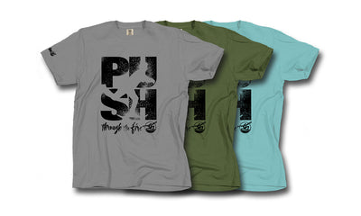 'Push Through The Fire' Fundraiser Tee