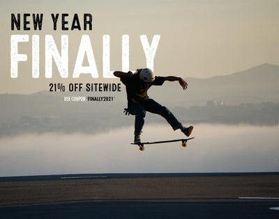 New Year, Finally!  21% OFF for a Limited Time